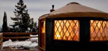 Yurt near Idaho City