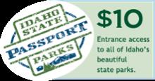 Idaho State Passport Parks logo