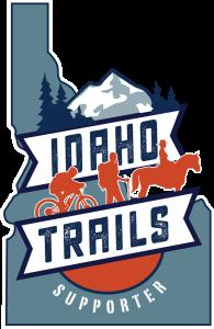 idaho trails supporter sticker