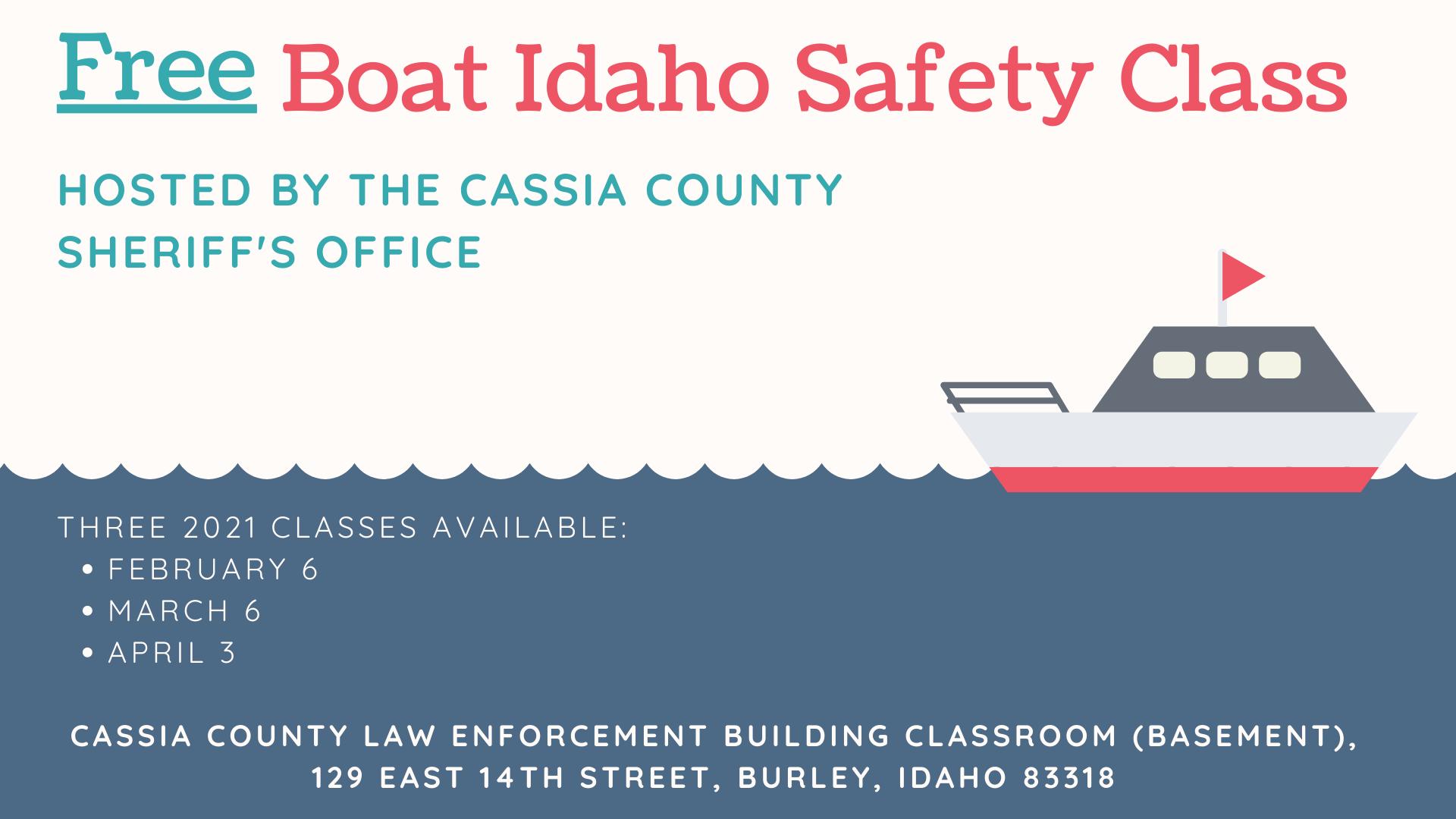 Boat Idaho Safety Class