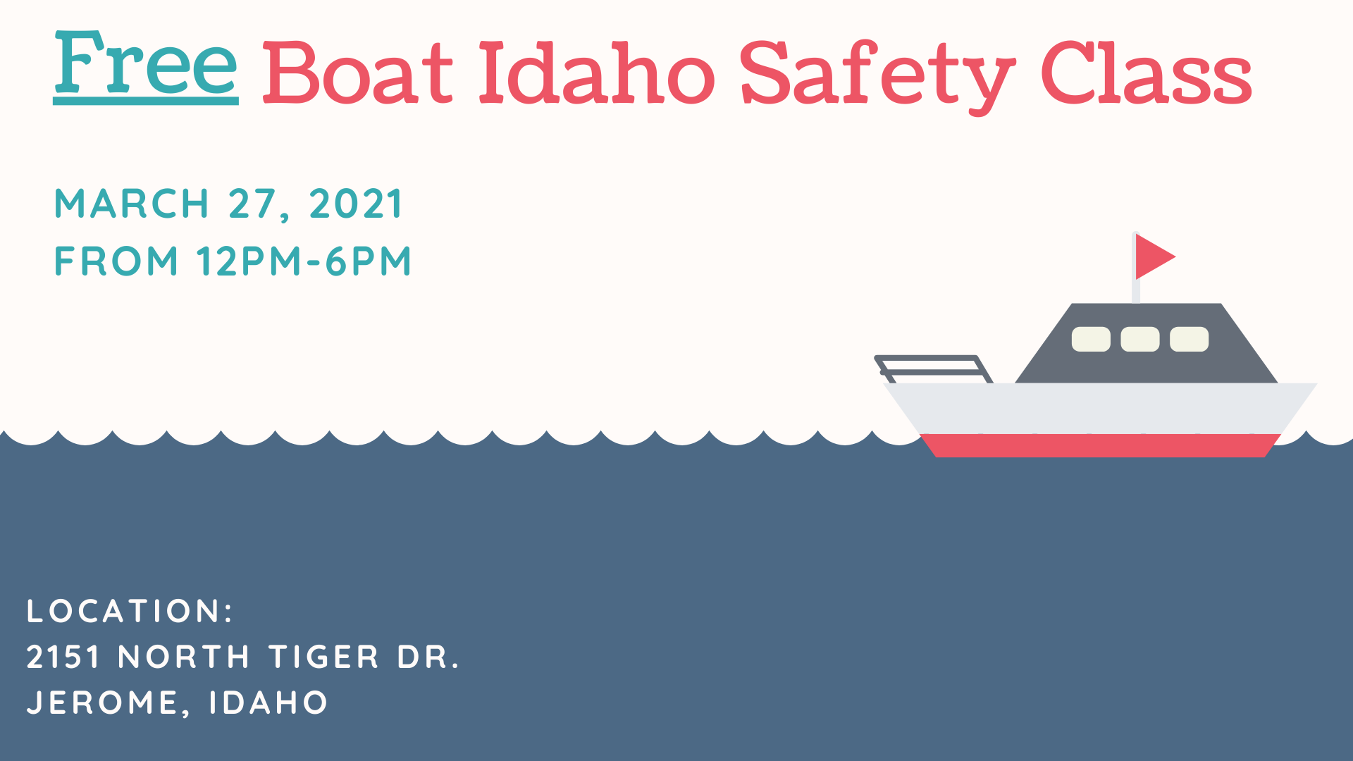 Boat Safety Class in Jerome County