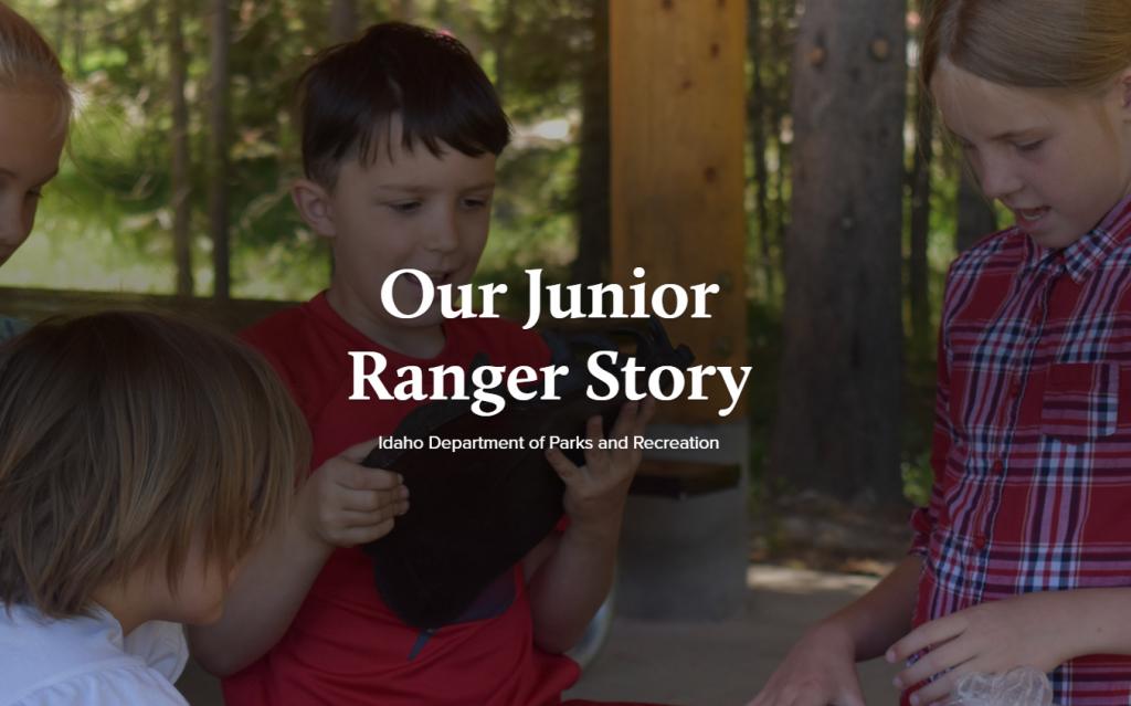 Our Junior Ranger Story