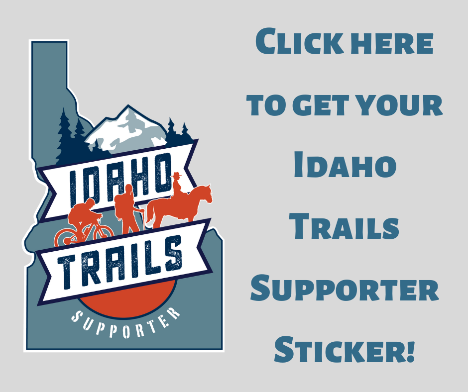 click to get your idaho trails supporter sticker