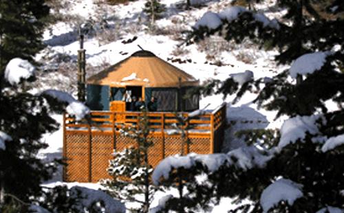 banner yurt