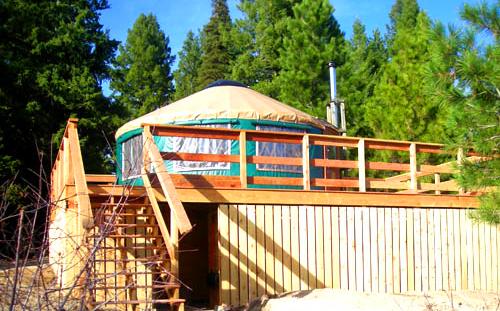 elkhorn yurt
