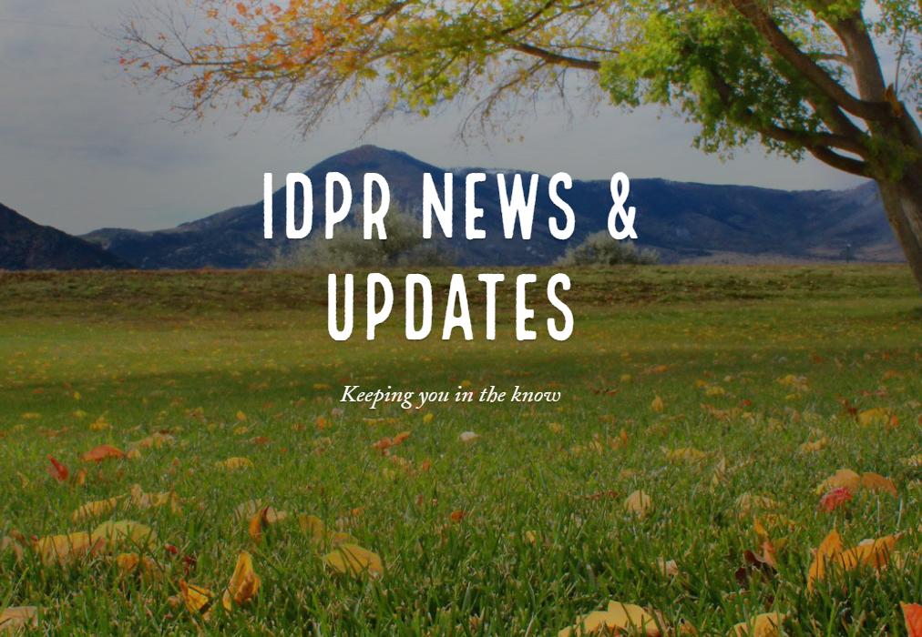 IDPR News & Updates