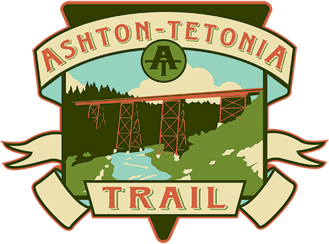 Ashton to Tetonia Trail logo