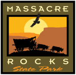 Massacre Rocks State Park logo