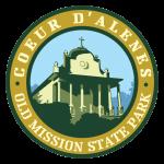 Coeur d'Alene Old Mission State Park logo