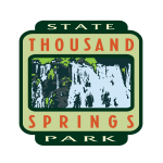 Thousand Springs State Park logo