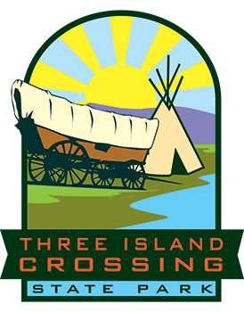 Three Island Crossing State Park logo