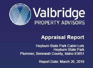valbridge property advisors appraisal report
