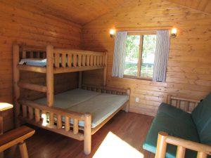 Three Island Crossing cabin-interior